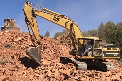 rock excavation